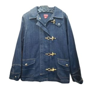 Chaps Denim Jacket Size Small